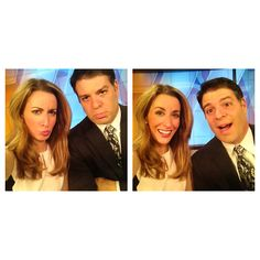 The many faces of WFMJ Today's Mike Case and Lauren Lindvig!