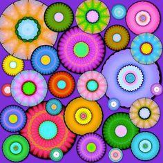 Fantasy Donuts?  (M) (121 pieces)