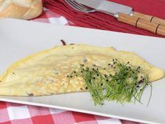 Receta | Crepes de tortilla con habitas, cecina y foie - canalcocina.es