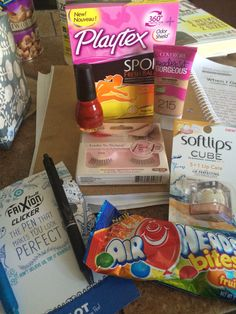 Amazing products from @influenster deans list Vox box !