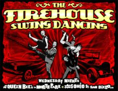 Firehouse Swing Dance at Queen Bee's