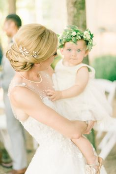 Get ready for heaps of heartfelt moments captured by Elizabeth Fogarty Photography ! Because Lauren and Mohammed's wedding has too ma. Blonde Baby Girl, Blonde Babies, Flower Girl Crown, Flower Girl Dresses, Baby Flower, Floral Crown, Flower Girls, Purple Wedding Flowers, Rustic Wedding Flowers