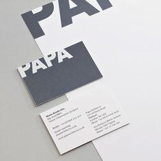 Designspiration — Phage Visual Communication | Showcase: Papa Architects