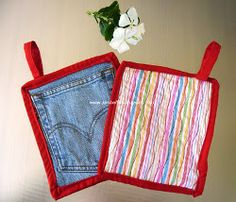 Lots of potholder ideas