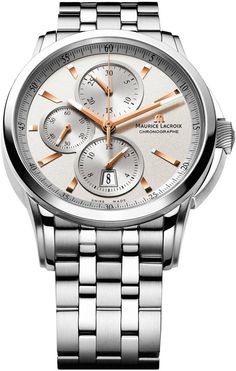 Maurice Lacroix Watch Pontos Chrono 3 Counters #bezel-fixed #bracelet-strap-steel #brand-maurice-lacroix #case-material-steel #case-width-43mm #chronograph-yes #date-yes #delivery-timescale-4-7-days #dial-colour-silver #gender-mens #luxury #movement-automatic #official-stockist-for-maurice-lacroix-watches #packaging-maurice-lacroix-watch-packaging #style-sports #subcat-pontos #supplier-model-no-pt6188-ss002-131 #warranty-maurice-lacroix-official-2-year-guarantee #water-resistant-50m