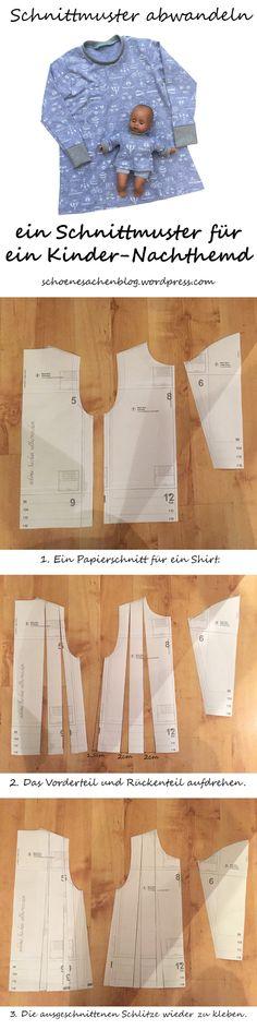 19 besten Nachthemd Muster Bilder auf Pinterest | Sewing Projects ...