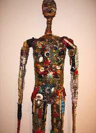 Resultado de imagem para artist who wraps things fiber wire and found objects