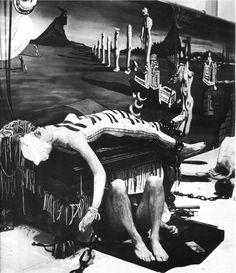 """Dream of Venus"" Salvador Dali, surrealist art installation at the 1939 World's Fair L'art Salvador Dali, Dali Quotes, Dali Paintings, Francis Picabia, Rene Magritte, Charles Darwin, Spanish Artists, Art Moderne, World's Fair"