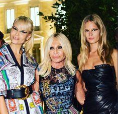 donatella_versace Natasha & Anna last night Anna Ewers, Donatella Versace, Night, Instagram, Fashion, Moda, Fashion Styles, Fashion Illustrations