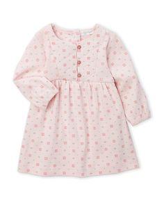 d69180f047981 Purebaby (Newborn Infant Girls) Dahlia Dress with Built-In Bodysuit