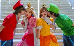 Super Mario Bro. Couple Costumes, Photography Photos, Favorite Holiday, Super Mario, Halloween Ideas, Costume Ideas, Bro, Competition, Cosplay
