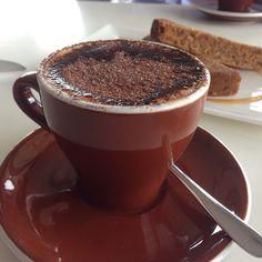 Cappuccino @ Kafe Krave in Windsor Brisbane