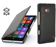 Stilgut® Book Type, Leather Case For Nokia Lumia 930, Black http://www.smartphonebug.com/accessories/most-wanted-nokia-lumia-930-cases-and-covers/