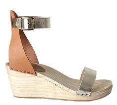 Naomi High Ankle Strap Sandal - Bryr - Handmade Clogs with Care.