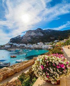 Levanzo (ilha), Sicília, Itália