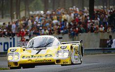 Porsche 956 race car - Le Mans winner