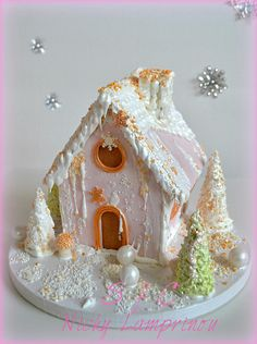 Gingerbread house by Nicky Lamprinou