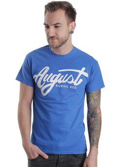 August Burns Red - Vintage Logo Royal - T-Shirt