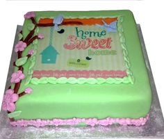 House Warming Cake  Like us on Facebook @ www.facebook.com/Meli.Ann.Designs