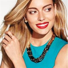 """Layers of Fun Statement Necklace $24.99 Black and gold always looks luxe. 18"""" L with 3 1/2"""" extender. #avon #jewelry NEW ONLINE CUSTOMER SHIPPING CODE (one time use): WELCOME-20% off order of $50+"""