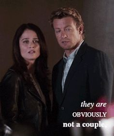 The Mentalist - Jane and Lisbon