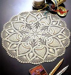 Free Crochet Doily Patterns to Print Free Crochet Doily Patterns, Crochet Motifs, Crochet Art, Crochet Round, Crochet Home, Thread Crochet, Filet Crochet, Irish Crochet, Knitting Patterns