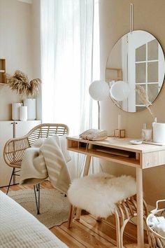 Room Ideas Bedroom, Home Decor Bedroom, Airy Bedroom, Bedroom Small, Bedroom Inspo, Small Bathroom, Small Apartment Bedrooms, Study Room Decor, Apartment Hacks