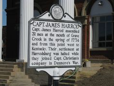 James Harrod* (1742-1793) – Frontiersman, founder of Harrodsburg, first permanent settlement west of the Alleghenies, in 1774. Born in Bedford County, Pennsylvania, died unknown.