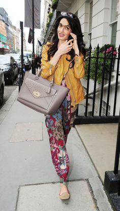 Amal Alamuddin's Street Style on Pinterest | George Clooney, Human ...
