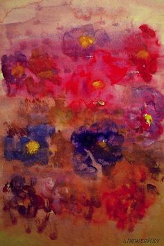 Abstract Flowers American High School, Framed Prints, Canvas Prints, People Art, Abstract Flowers, Greeting Cards, Tapestry, Artwork