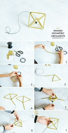 DIY HIMMELI CHRISTMAS ORNAMENTS