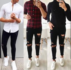 43 Best Ideas For Moda Hombre Casual Fashion Beards Stylish Mens Outfits, Casual Outfits, Men Casual, Fall Outfits, Mode Man, Herren Outfit, Mens Style Guide, Men Street, Street Wear