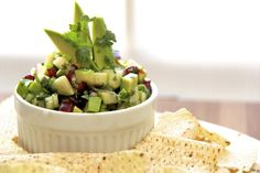 Granny Smith Apple & Avocado Salsa
