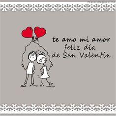 Te Amo Mi Amor Feliz Dia De San Valentin