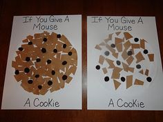 If you Give a Mouse a Cookie collage and more...