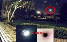 IMPRESSIONANTE: UFO acompanha Bola de Fogo pelo Céu de Utah, 02 de Outubro 2014