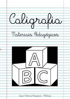 Blog Educação e Transformação: 👍Caligrafia: alfabeto e números Making Inferences, Letter N, Bar Chart, Knowledge, Writing, Math, Logos, Gabriel, Letter E Activities