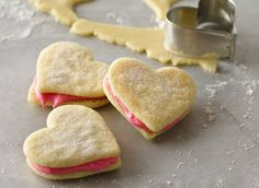 These Valentine's sugar cookies are so simple, and so delicious. If you're looking for a good baking activity for kids, this one takes the cake—er, cookie! If you have little ones helping you out, you could bake the cookies ahead of time and just let the little hands help frost