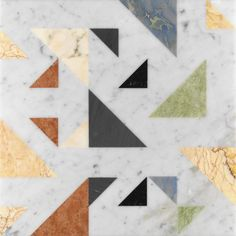 ALLEGRO by Raffaello Galiotto - Indoor tile / floor / marble / geometric pattern by Lithos Design