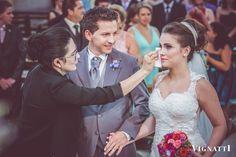 Cuidando da beleza de nossa noiva! Fotografia Vignatti