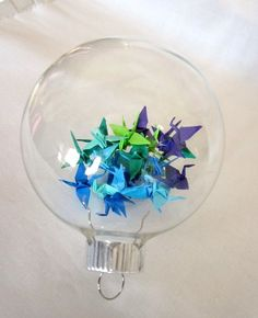paper punch ornaments - Google Search