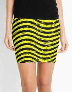 Wiggly Yellow and Black Speckle Pattern Mini Skirts https://www.redbubble.com/people/markuk97/works/28632582-wiggly-yellow-and-black-speckle-pattern?asc=t&p=pencil-skirt via @redbubble #MiniSkirts #skirts #wiggly #waving #black #yellow #lines #speckled #fashion #clothing #Redbubble #pretty