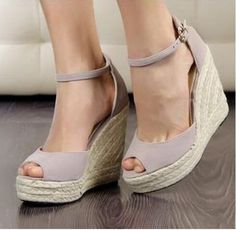 96c14d13e2297 129 Best Summer Wedges And shoes for Women images