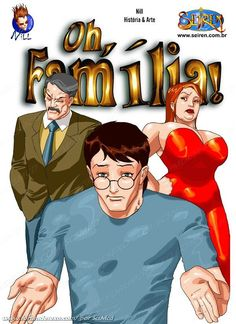 Oh, Família - HQ parte 1 - HQ Hentai BR