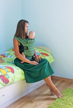 Karaush Forest šátkové nosítko standard :: www.babywearing.cz