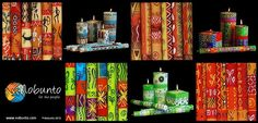 hand-painted & handcrafted candles by Nobunto from Napier in South Africa | www.nobunto.com
