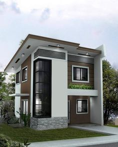 25 2 Storey House Plans Philippines 2 Storey House Plans Philippines - These houses 2 storey duplex or townhouses or sing Simple Houses House Designs s Amusing Drawings Home design plan . Two Story House Design, 2 Storey House Design, Duplex House Design, Townhouse Designs, Small House Design, Modern House Design, Two Storey House, Style At Home, Design Living Room
