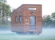 NimmE - Das kleine Haus zur gro en Freiheit Caravan, Electronics, Tiny Cottages, Tiny House Cabin, Freedom, Garden Cottage, Travel Trailers, Motorhome, Consumer Electronics