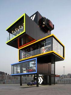 MINI Brand Experience Centre Shanghai by BMW China, Architectural Design Team, Shanghai, China