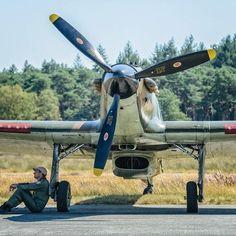 Hurricane at rest. Aircraft Propeller, Ww2 Aircraft, Aviation World, Hawker Hurricane, The Spitfires, Aircraft Painting, Desert Camo, P51 Mustang, Battle Of Britain